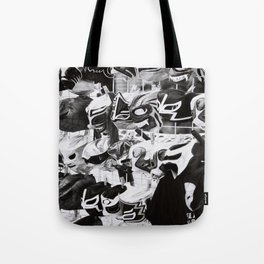 Wrestlers Masks Tote Bag