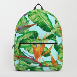 Tropical and exotic pattern painting II Backpack