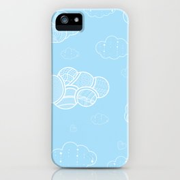A cloudy sky iPhone Case