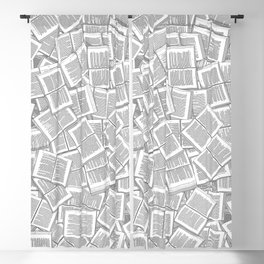 Literary Overload Blackout Curtain