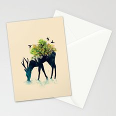 Watering (A Life Into Itself) Stationery Cards