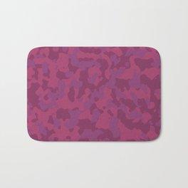 Camouflage Wild Berry Bath Mat