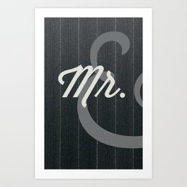 Mr. Art Print