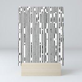 line scan Mini Art Print