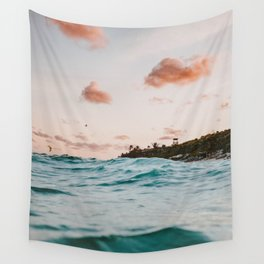 summer sunset iv Wall Tapestry
