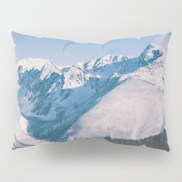 Snow Capped Peaks Pillow Sham