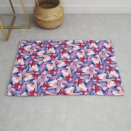 Lottie Abstract Painting Rug