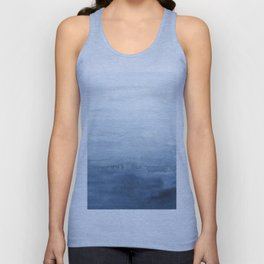 Indigo Abstract Painting | No. 4 Unisex Tanktop