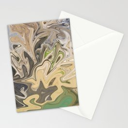 Shattered Earth Stationery Cards