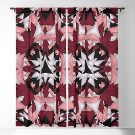 Quilt Pattern Blackout Curtain