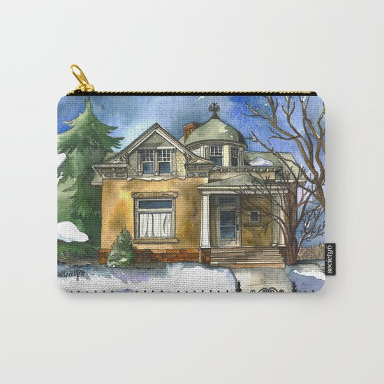The Little Brown House Carry-All Pouch