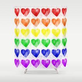 Love Wins Shower Curtain