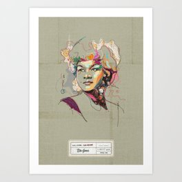 Etta James - Soul Sister | Soul Brother Art Print