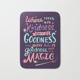 Kindness, Goodness, & Magic Bath Mat