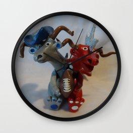 football dragon Wall Clock