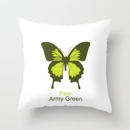 Ulysses Butterfly 11 Throw Pillow