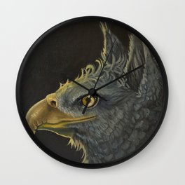 The Gryphon  Wall Clock