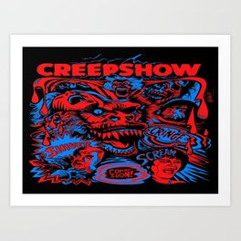 Do You Have The Creeps Art Print