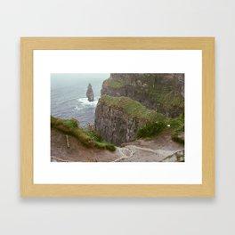 Cliffs of Mohr Framed Art Print