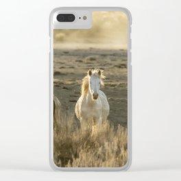 The Wild Spirit Clear iPhone Case