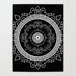 Celtic Soul Mandala Poster