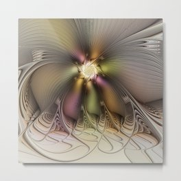 Abstract Fractal Fantasy Metal Print