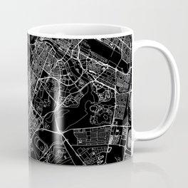 Dubai Black Map Coffee Mug