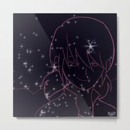 Starry Marinette Metal Print
