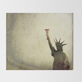 Understanding Liberty  Throw Blanket