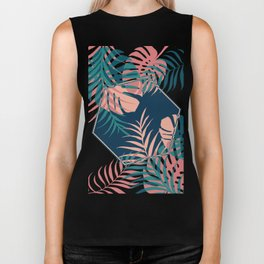 Tropical Dreams #society6 #decor #buyart Biker Tank