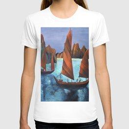 Junks In the Descending Dragon Bay T-shirt
