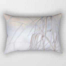 Beautiful Winter Morning Rectangular Pillow