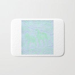 Abstract Buford and Sugar Bath Mat