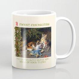 CHRISTMAS GREETINGS for Naughty Cats Coffee Mug