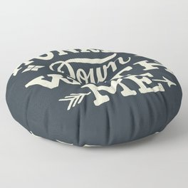 Hunker Down Floor Pillow