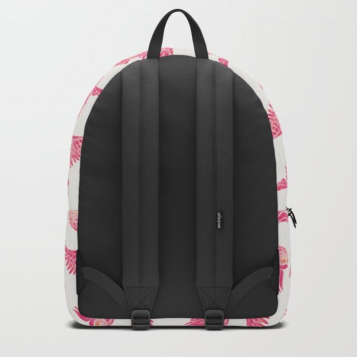 Owls in Flight – Pink Palette Backpack