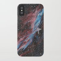 outer space iPhone & iPod Cases featuring Outer Space by Studio 502