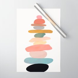 Balancing Stones 22 Wrapping Paper