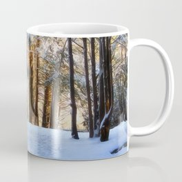 A Winter Morning in the Woods Coffee Mug