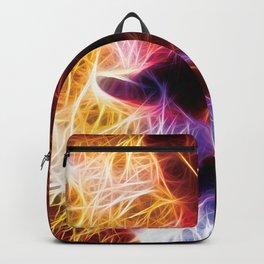 Lion Fractal Backpack