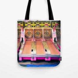 Skee Ball Blurry Photo Tote Bag