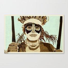 Tribesmen Canvas Print