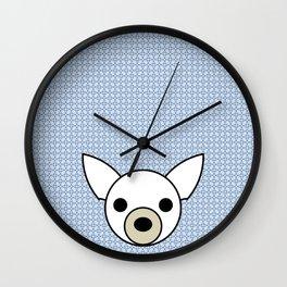Pop Dog Chihuahua Wall Clock
