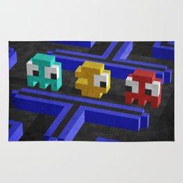 Pac-Man's dilemma Rug