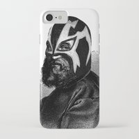wrestling iPhone & iPod Cases featuring WRESTLING MASK 9 by DIVIDUS