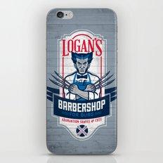 Logan's Barbershop iPhone & iPod Skin