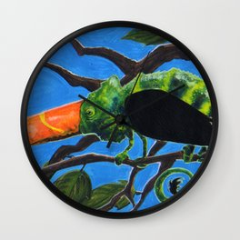 Tukameleon Wall Clock