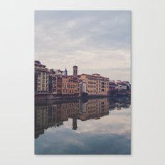 florence reflection Canvas Print