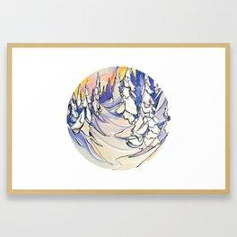 Mushi Mushi :: Baldface Framed Art Print