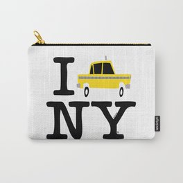 New York Yellow Cab logo Carry-All Pouch